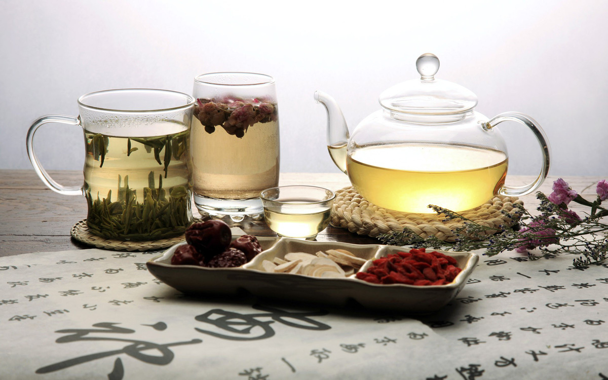 Điểm mặt các loại trà hoa kết hợp trà hoa hồng