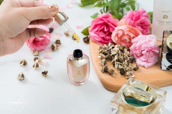 Tinh dầu dưỡng hoa hồng Moriga