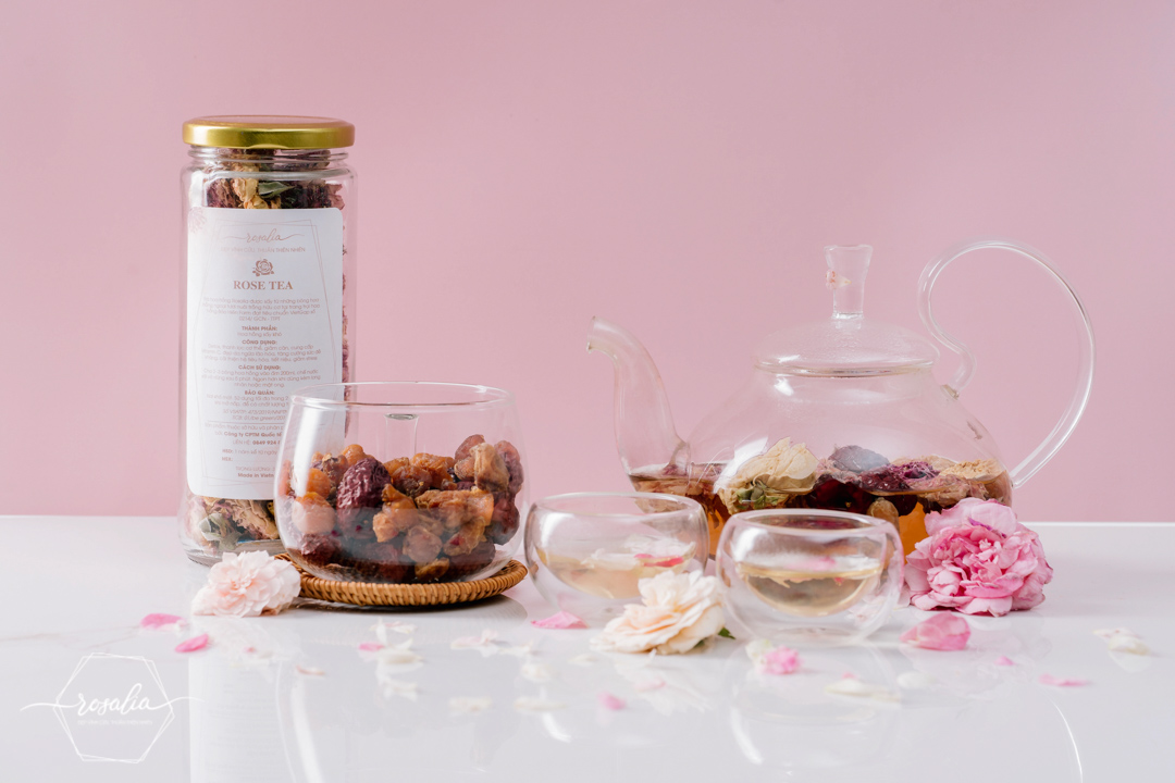 SET trà hoa 4 vị Rosalia by Bảo Hiên