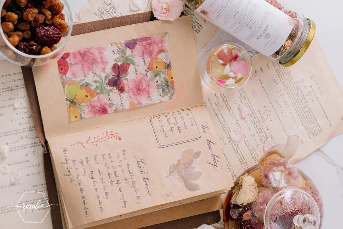 Rosalia by Bảo Hiên - Trà hoa hồng có tác dụng gì cho phụ nữ 30 tuổi trở lên