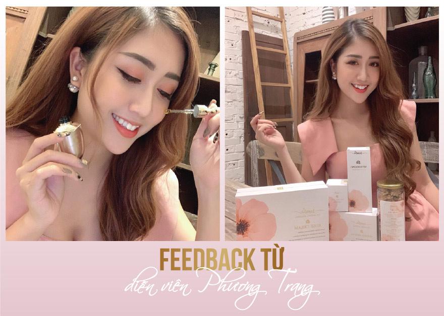 Feedback diễn viên Phương Trang